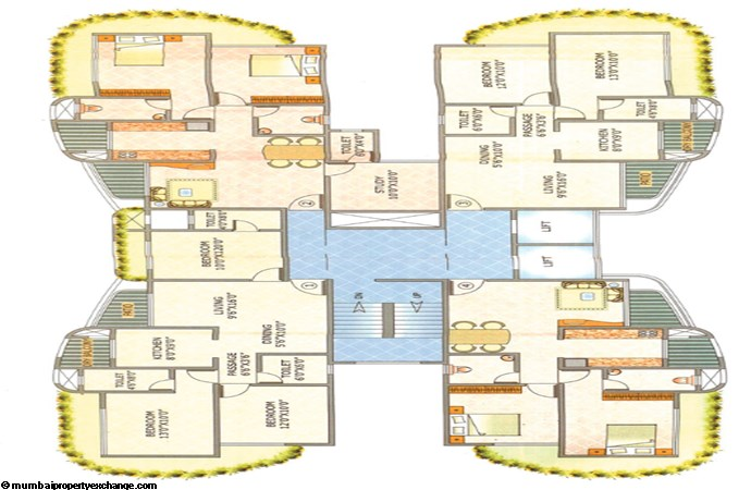 Raj Atlantis II Floor Plan