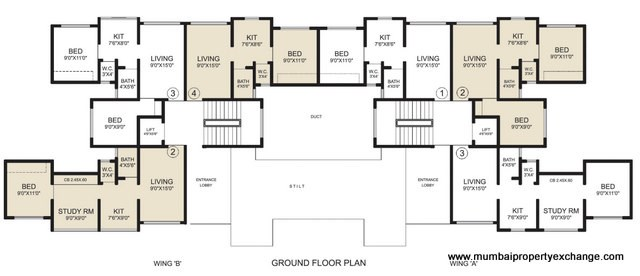 Shankeshwar Pearls Floor Plan