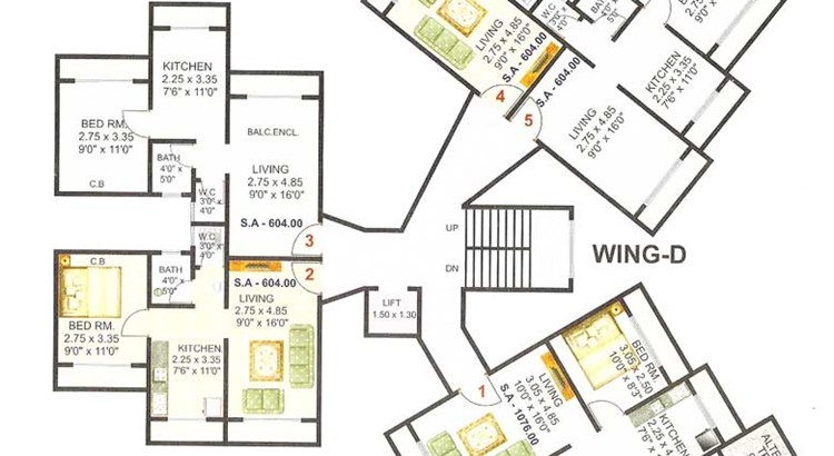 Shanti Plaza Phase I Floor Plan 1
