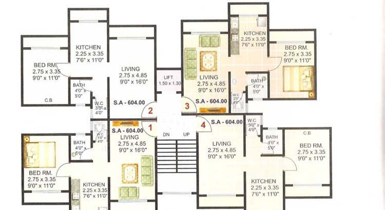 Shanti Plaza Phase I Floor Plan 2