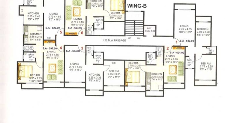 Shanti Plaza Phase I Floor Plan 3