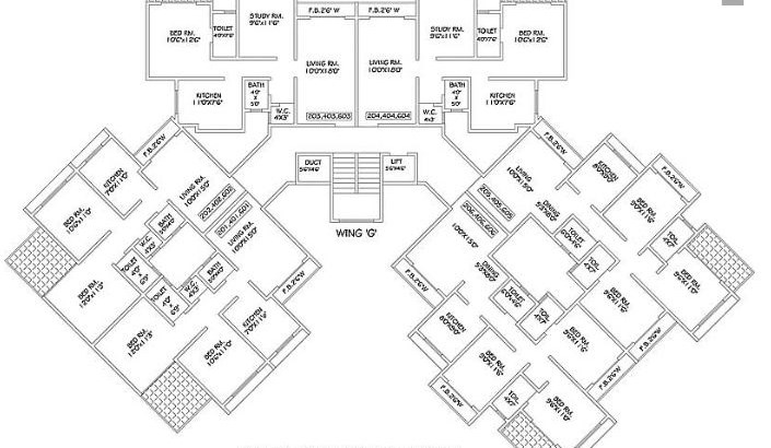 Green City Exotica Floor Plan