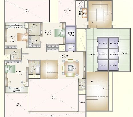 Orchid Paradise Floor Plan 3