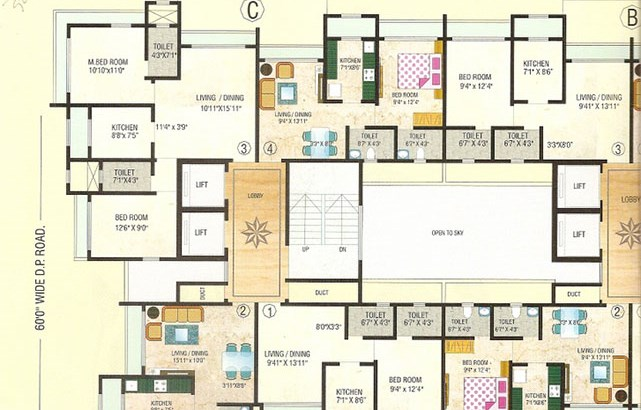 Harsh Niketan Floor Plan I