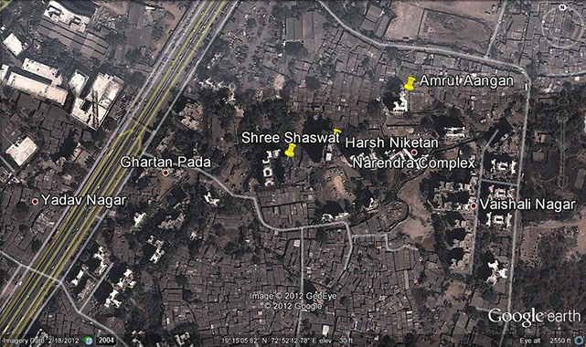 Harsh Niketan Google Earth
