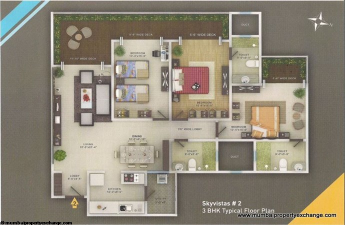 Sky Vistas A wing Floor Plan 5