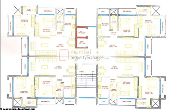 Kedar Darshan Floor Plan 1