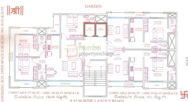 Kedar Darshan Floor Plan 2