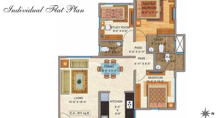 Kul Jal Ratan Deep Floor Plan