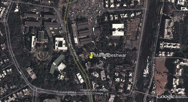 Mandapeshwar Google Earth