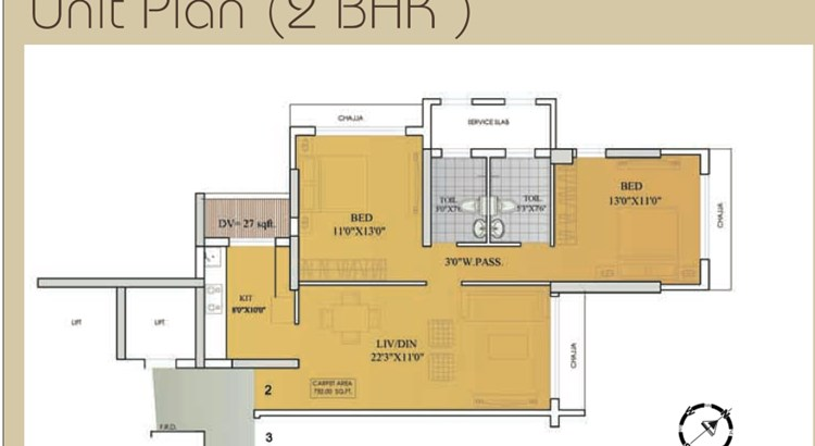 Madhupuri Floor Plan