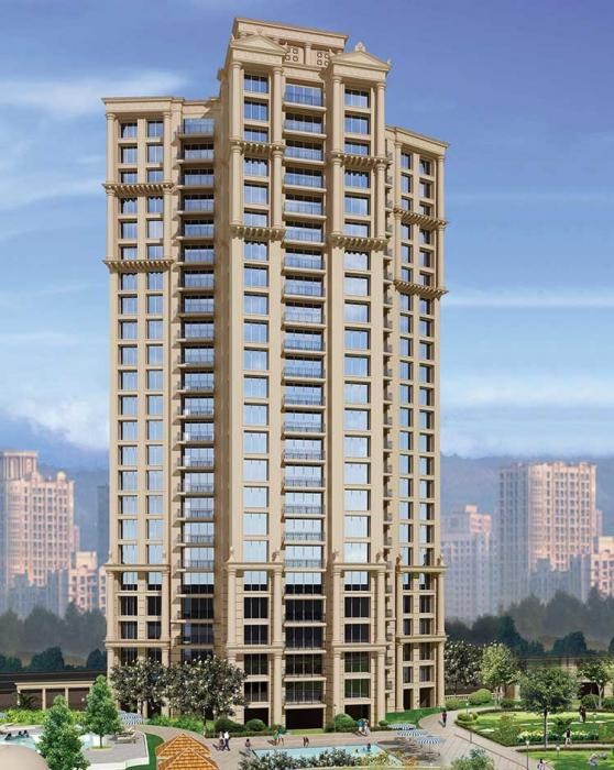 3 BHK apartment for Sale in Rodas Enclave Bankston, Thane West