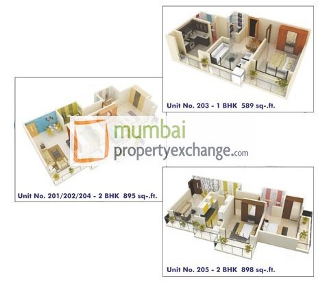 Aims Sea View Unit layout
