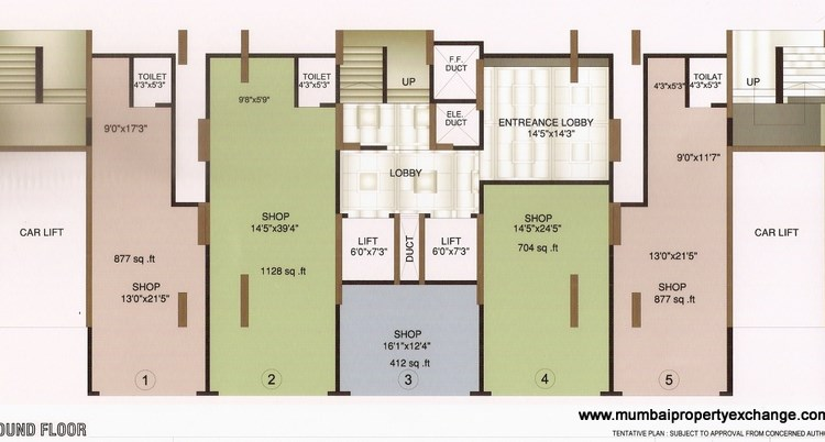 Gurudev Darshan Floor Plan I