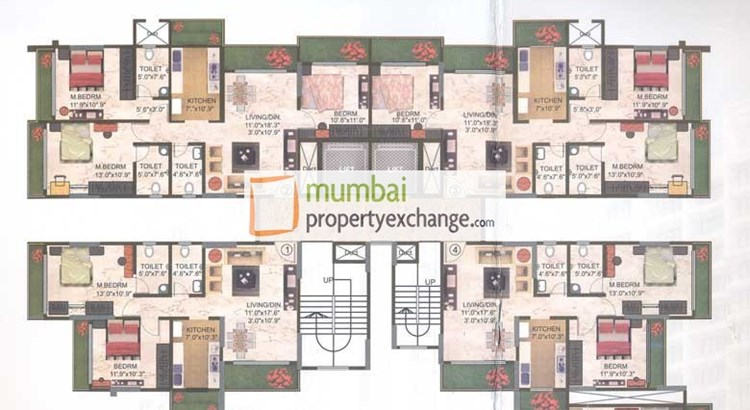 Kaustubh Platinum Floor Plan