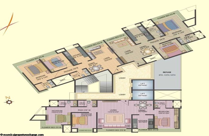 Ashwa Platinum Floor Plan