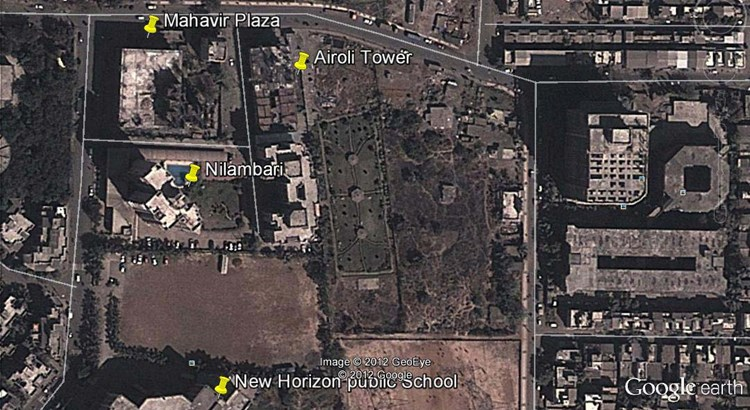 Mahavir Plaza Google Earth