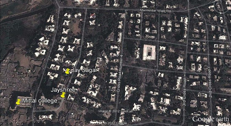 Jayshree Google Earth