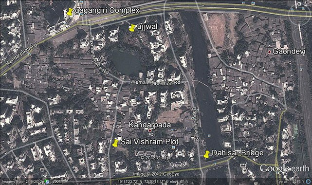 Sai Vishram Google Earth