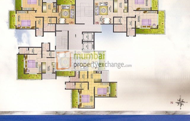 Shri Chandralekha CHS Floor Plan