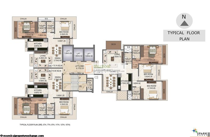 Vishwachand Sky Floor Plan