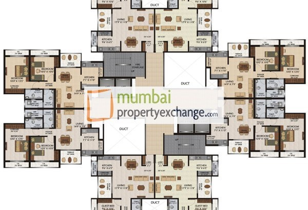 Patel Colossus Floor Plan