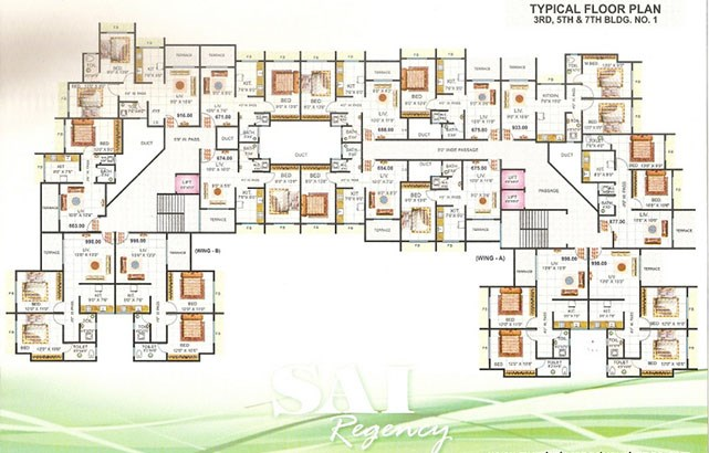 Sai Regency Floor Plan II