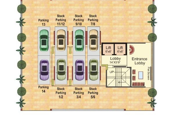 Tulsi Marvel Floor Plan