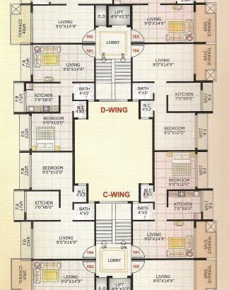 Adinath Homes Floor Plan II