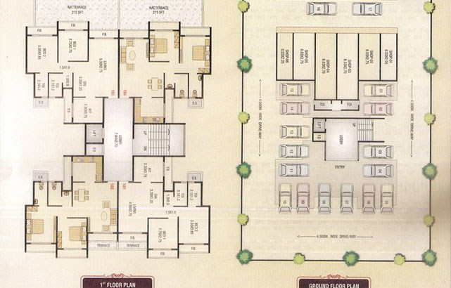 Affinity Homes Floor Plan I