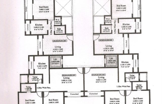 Shree Balaji Amrit Floor Plan 1