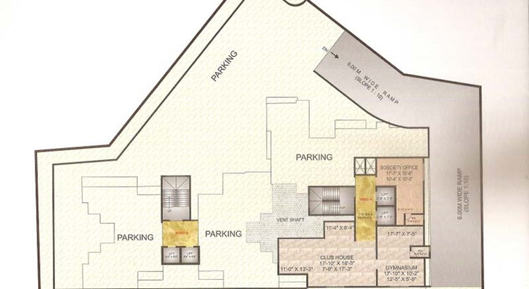 Neelkamal Heights Floor Plan III