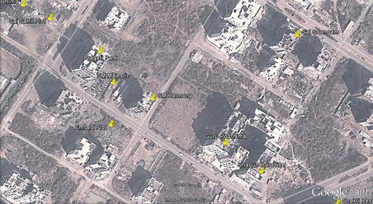 Pragati Park Google Earth