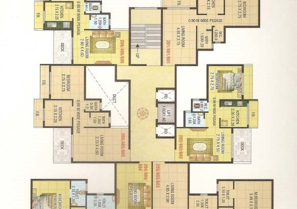 Mahakali Residency Floor Plan 2