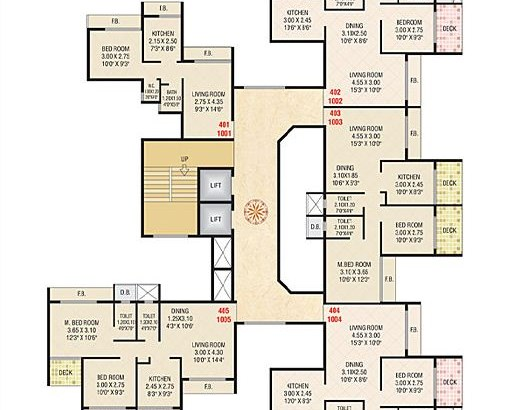 Today Ganesham Floor Plan 2