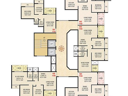Today Ganesham Floor Plan 3