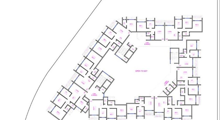 Shakti Residency Floor Plan