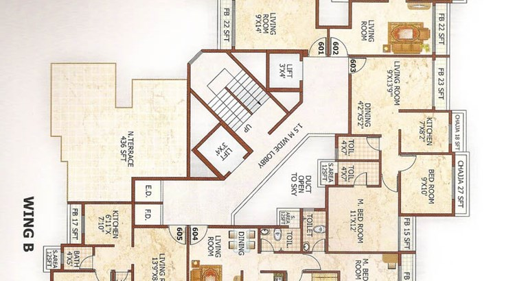 Green Valley Metropolis Floor Plan