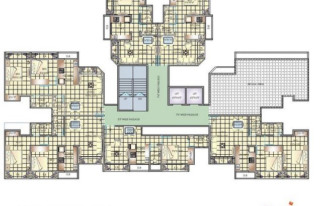 Rachana Tower Floor Plan