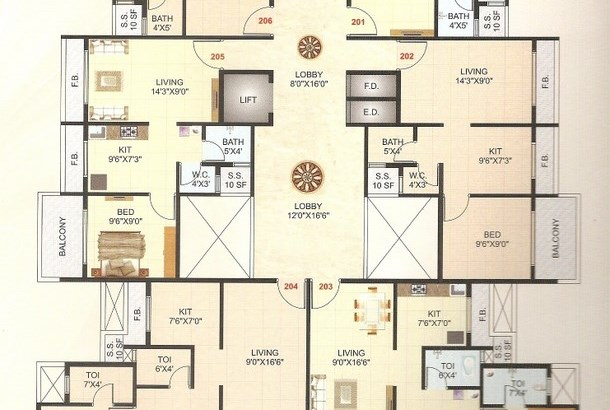 Shree Homes Floor Plan