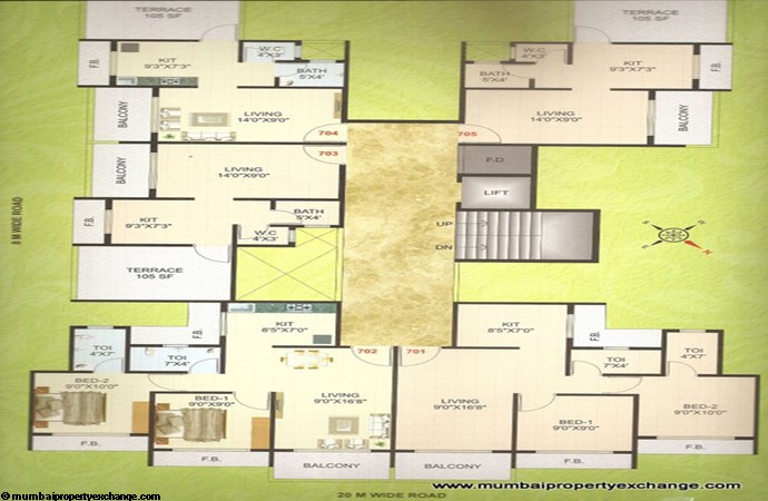 Mamta Residency Floor Plan