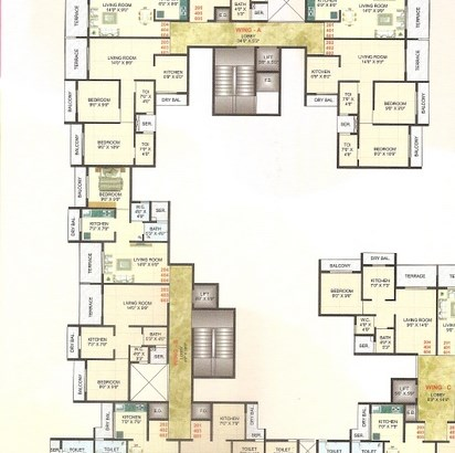 Moreshwar Complex Floor Plan 5