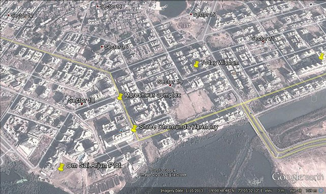 Moreshwar Complex Google Earth