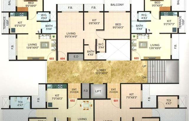 Pramukh Residency Floor Plan