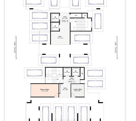 Balaji Shristi Floor Plan