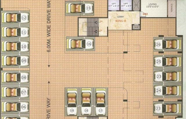 Neelkanth Majestic Floor Plan I
