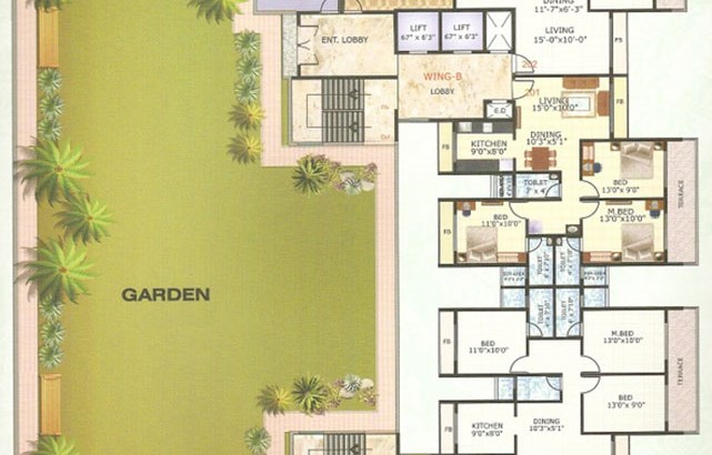 Neelkanth Majestic Floor Plan II