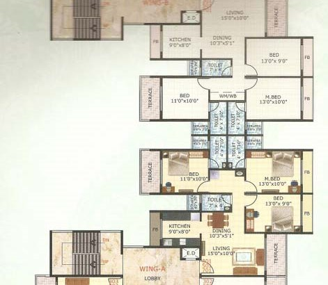 Neelkanth Majestic Floor Plan III