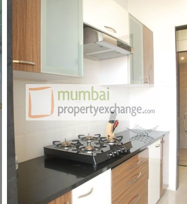 Vinay Unique Homes Sample flat kitchen