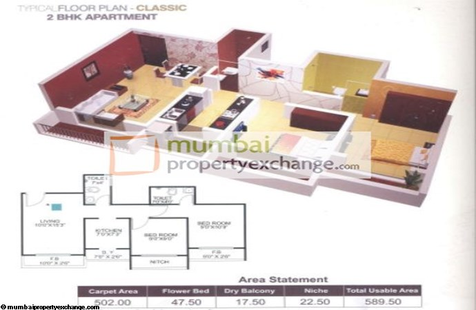 Vinay Unique Gardens Floor Plan